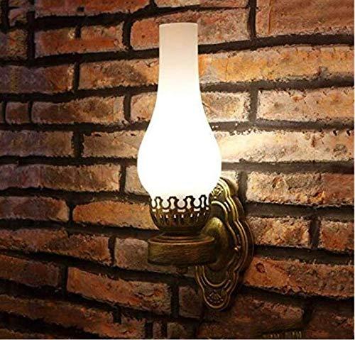 Glas Öl Lampe Schatten (Kronleuchter Lightwall Lampe Vintage Öl Wand Licht Bar Korridor Pub Schlafzimmer Veranda Lampe Glas Retro Cafe Esszimmer)