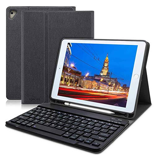 Funda Teclado Español iPad 20186th Gen/iPad 2017/iPad