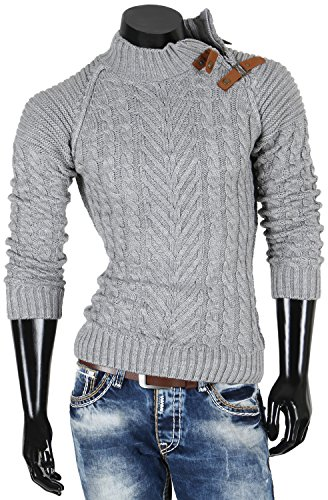 Emimay - Pull - Homme Gris