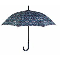 William Morris Strawberry Thief Walking Umbrella by Briers