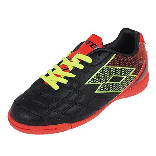 Lotto - Spider jr indoor lisse - Chaussures football en salle indoor