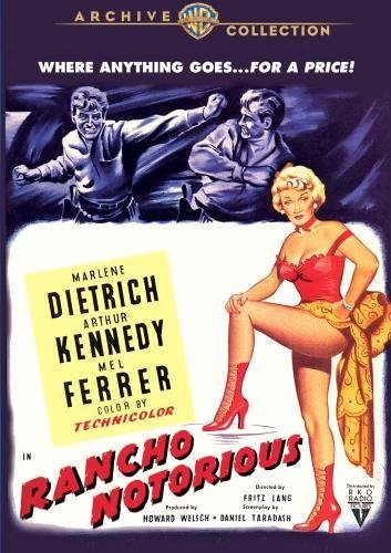 Rancho Notorious by Marlene Dietrich