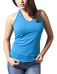 Urban Classics Damen Top Ladies Neckholder Shirt