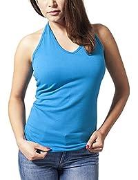 Urban Classics Ladies Neckholder Shirt, Tank Top Para Mujer