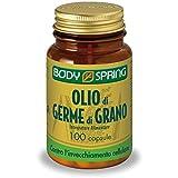 Body Spring Integratore Alimentare Olio di Germe di Grano 100 Capsule