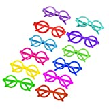 LUOEM 12 Piezas Kids Party Favor Eyeglasses Cute Candy Glasses Frame...
