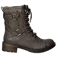 Rocket Dog Thunder Military Ankle Boots