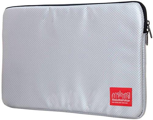 13inch-de-plata-de-la-manga-del-ordenador-portatil-del-vinilo-de-manhattan-portage