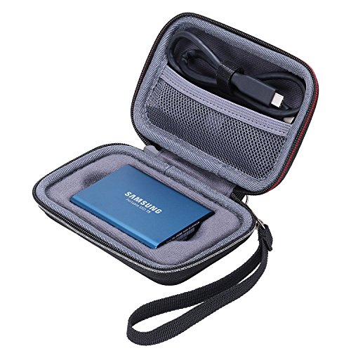 XANAD Tasche fur Samsung T3 T5 SSD Portable SSD 250GB 500GB 1TB 2TB Festplatte Case