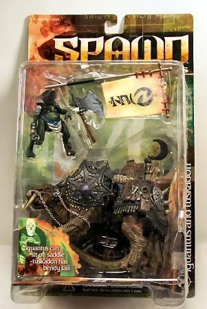 Spawn Series 14: Dark Ages Iguantus and Tuskadon Action Figure by Spawn Dark Ages | Durable Service
