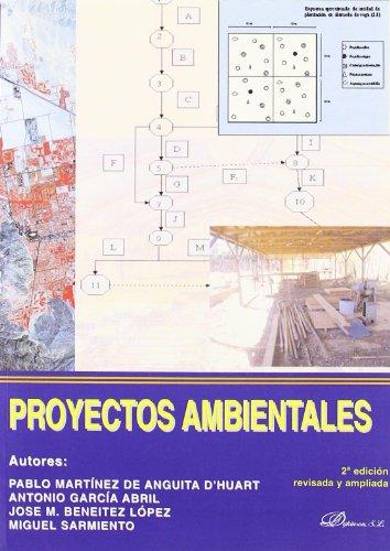 Descargar Libro Proyectos ambientales de Pablo Martínez de Anguita DŽHuart