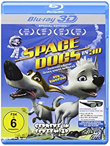 Space Dogs - Der Kinofilm Real 3D Editon (3D Blu-ray) [Special Edition]