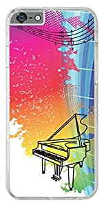 iPhone 6s Back Cover,Premium Quality Designer Printed 2D Transparent Lightweight Slim Matte Finish Hard Case Back Cover for Apple iPhone 6s by Tamah
