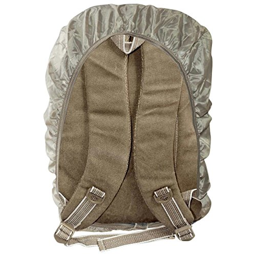 Best canvas backpack in India 2020 Bagathon India Beige Canvas Backpack with Water and Dust Cover Image 8
