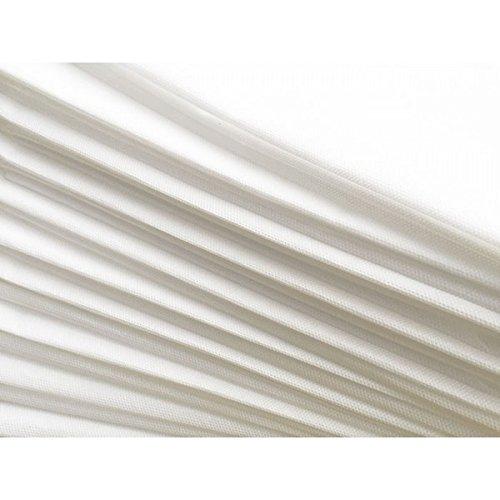 """PHYSIOFIT24 """"Premium PP70"""" Waschfaserlaken 10 St. 80x210cm (bis zu 400 mal waschbar) Waschvlies Auflage für die Behandlungsliege/Massageliege (Weiß) Vlieslaken - 2"""