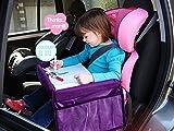 MuStone Tablett für Kinder auf Reisen, wasserdichtes Reisetablett, Auto-Organizer für Baby-Autositze, Spielen, Lernen, Aktivität, Zug, Flugzeug, Innen- und Außenbereiche, Reise