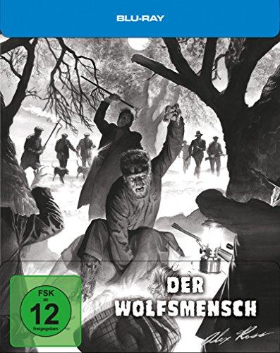Der Wolfsmensch - Steelbook designed by Alex Ross [Blu-ray] [Limited Edition]