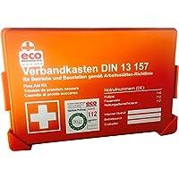 Betriebs-Verbandkasten Erste-Hilfe DIN13157 mit Prüfungsetikett von Eco preisvergleich bei billige-tabletten.eu