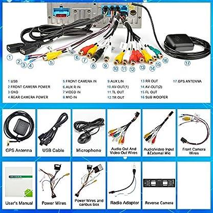 Ohok-7-Zoll-Bildschirm-2-Din-Autoradio-Android-90-Pie-Octa-Core-4G32G-Radio-mit-Navi-Moniceiver-DVD-GPS-Navigation-Untersttzt-Bluetooth-WLAN-DAB-fr-Porsche-Cayenne-2003-2010-mit-Rckfahrkamera
