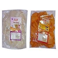 Shahi rice papdi 250gm pack(sweet flavour) with Shahi corn papdi 250gm pack