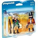 PLAYMOBIL 5512 - Duo Pack Sheriff und Bandit