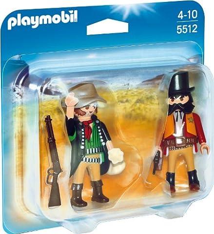 PLAYMOBIL 5512 - Duo Pack Sheriff und