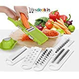 Cicerone Chopper Food Processor Multipurpose Use, Fruit & Vegetable Multi Chopper - All In One/Kitchen Tool (Multi Color)