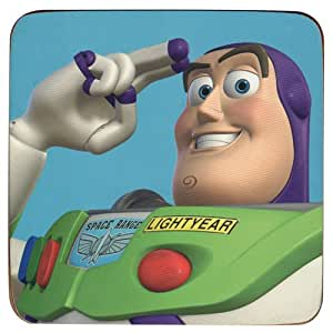Toy Story Buzz l'éclair Verre,–Visiodirect -