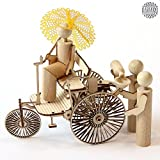 DAMASU BS_GZFI006, Bausatz-Figuren, Bausatz Benz Motorwagen Gruppe Bild