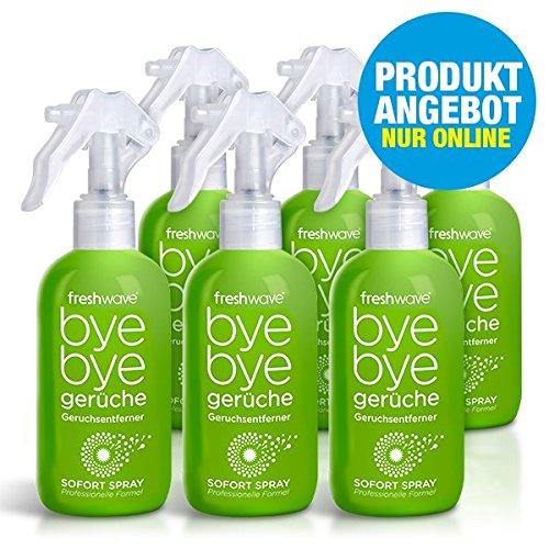 Bye bye gerüche Freshwave® 6er-Set Geruchsentferner Spray 250ml