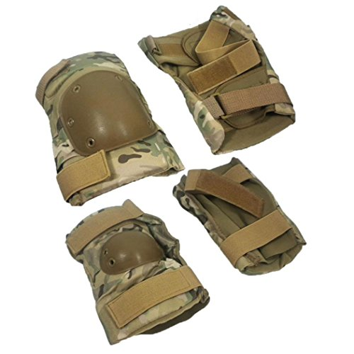 ROYAL KIT GINOCCHIERE + GOMITIERE LONG SOFTAIR (MULTICAM)