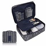 Make-up Reisetasche feiXIANG kosmetische Aufbewahrung schminkkoffer Waterproof Make-up Bag (Freie Größe, Blau)