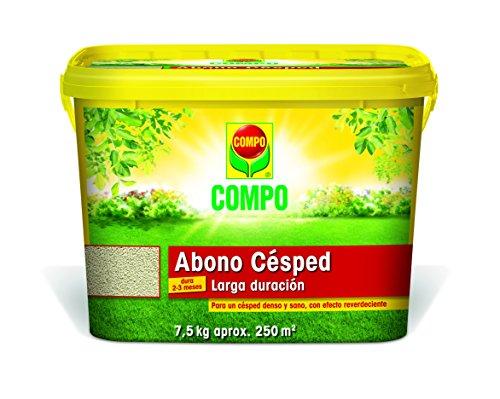 Compo 1024608011 Abono Césped Grandes Jardines 7,5 Kg (Bo x), 21x30x20 cm
