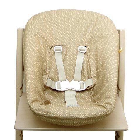 Blausberg Baby - Bezug für Stokke Newborn Set beige Pünktchen