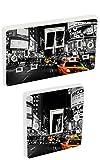 the grafix studio Lichtschalter-Sticker, Vinyl-Skin sosw25 New York Taxi