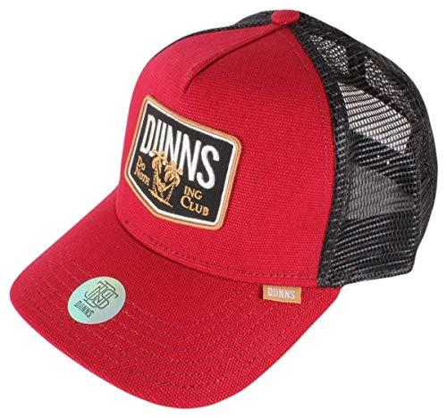 DJINNS - Nothing Club (wine) - Trucker Cap Meshcap Hat Kappe Mütze Caps
