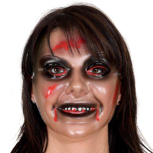 Maske Zombie-Frau