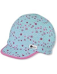 Sterntaler Bonnet avec visière pour filles, Âge  12-18 Mois, Bleu claire 5d076ab0c05