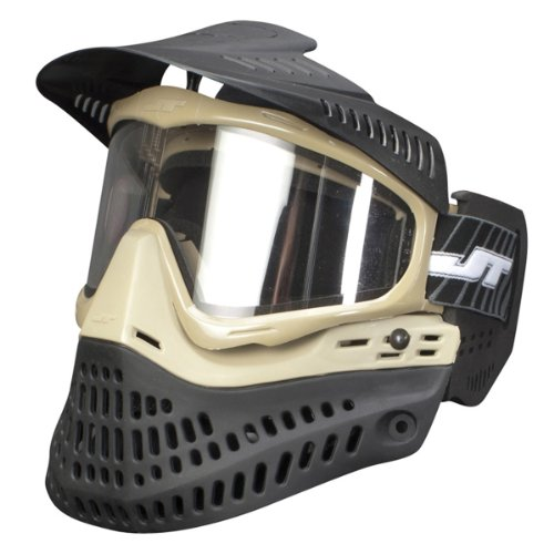 Paintball Maske JT Proflex Spectra Thermal - LE tan/black Test