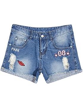 YiLianDa Donne Jeans Vita Alta