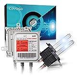 Koyoso Canbus Xenón Kit de Conversión HID H7 55W Super Decodificador Balastos No Error Rápido...