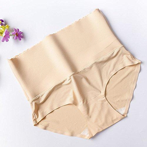 ZHUDJ La Taille Et L'Abdomen Haut Respirant Pantalons, Sous-Vêtements, Sous-Vêtements Confort Respirant Le Fil Non Marquant ? Coulissante color