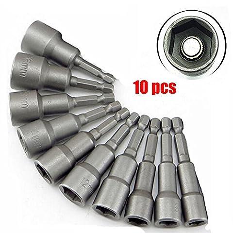 10PCs Magnetic 1/4