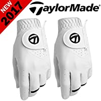 """""""50% OFF"""" TAYLORMADE SPORT SERIES MENS ALL WEATHER GOLF GLOVE TWIN PACK 2 PACK"""
