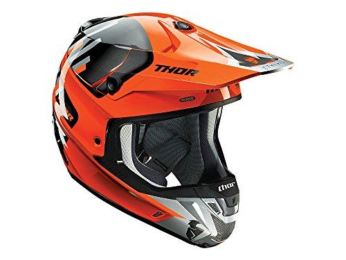 Preisvergleich Produktbild Motocrosshelm Thor Schaftes vortechs – Flo Orange / Grau – Palette 2017