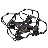 Virhuck GB202 Mini Pocket Quadcopter Drone, 2,4 GHz, 6 AXIS GYRO, 3 Speed Mode, 3D Rotation, 360 Grad Eversion Quad Drone Mini Drhne für Kind und Anfänger - Schwarz