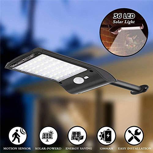 Namenlos 5 stücke solarleuchten im freien, 36 led super helle solar Lampe 280lm Motion Sensor Sicherheit Lichter drahtlose wasserdichte Flexible Wandleuchten -