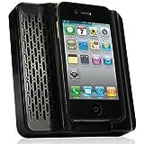 Daffodil MS120B Mini Enceinte Acoustique Portable pour Apple iPhone 4/4S – Couleur : Noir