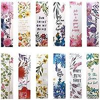 Belle Fleur Marque-pages pour femme enfants filles, Lot de 30