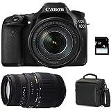 Galleria fotografica CANON EOS 80D + 18-135 IS USM + SIGMA 70-300 DG MACRO + Sac + SD 4Go